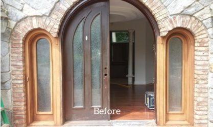 Door-Frame-Before